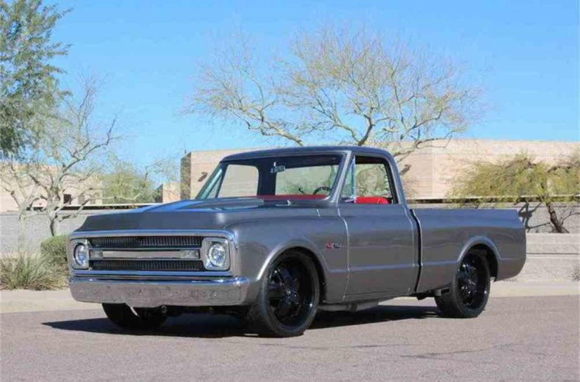 Classic Chevy Trucks For Sale >> If We Don T Look Back At The Classic Chevy C K Truck Nobody