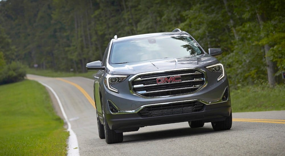 Comparing 2018 GMC Terrain vs 2018 Kia Sportage