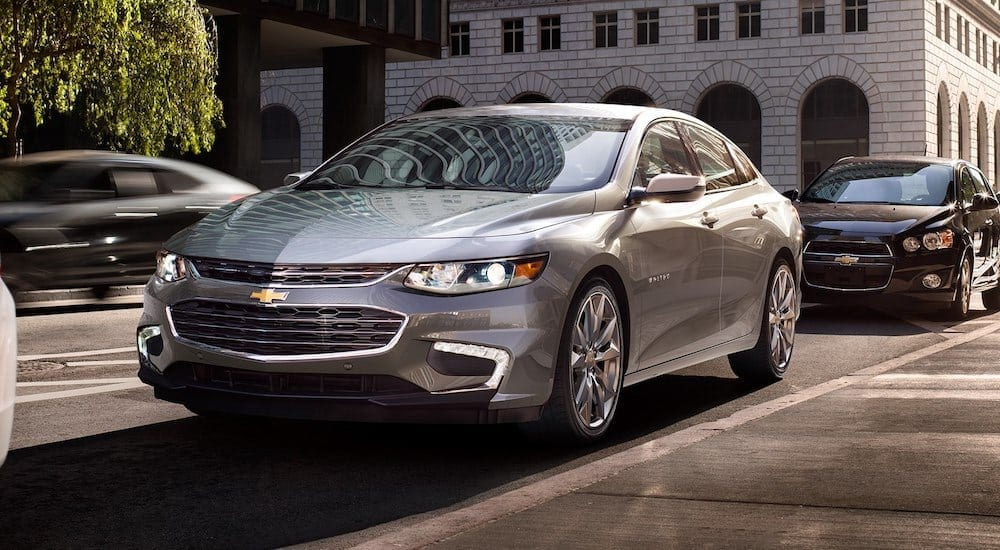 Comparing 2018 Chevy Malibu vs 2018 Hyundai Sonata